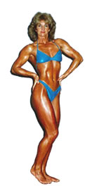 Carolyn Hansen - Champian Body Builder
